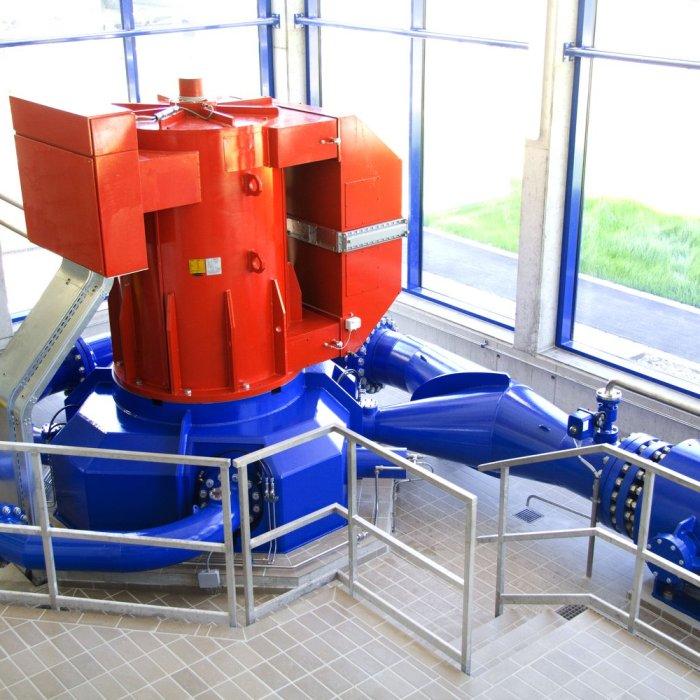 Turbine und Generator