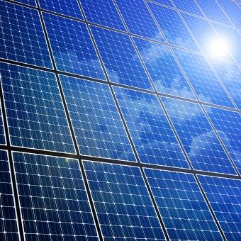 Solarstrom aus Photovoltaikanlagen