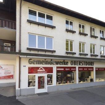 Der eWerk Laden in Oberstdorf