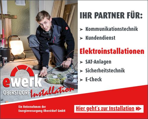 Ewerk installation elektroinstallation
