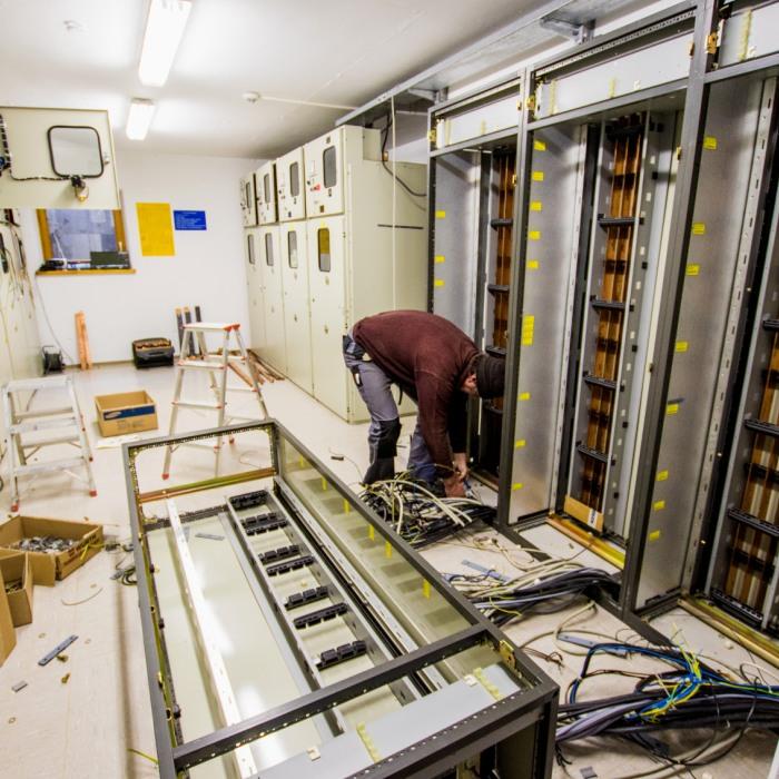 Umbau der Steuerung des Wasserkraftwerks Warmatsgund