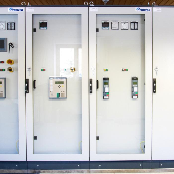 Die neue Steuerung des Wasserkraftwerks Warmatsgund