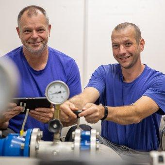 Markus Schelldorf und Jan Stucke