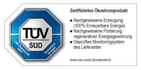 CMS 80-Zertifiziertes Ökostromprodukt - EE01-01