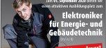 Anzeige Ausbildungsplatz Elektroniker (m/w/d)