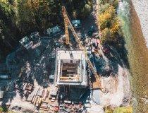 Kraftwerk Illerursprung von oben