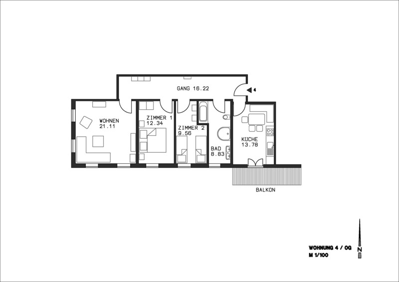 Ferienwohnung Georg Mayer Haus / Wohnung 4 (2397453), Oberstdorf, Allgäu (Bayern), Bayern, Deutschland, Bild 12