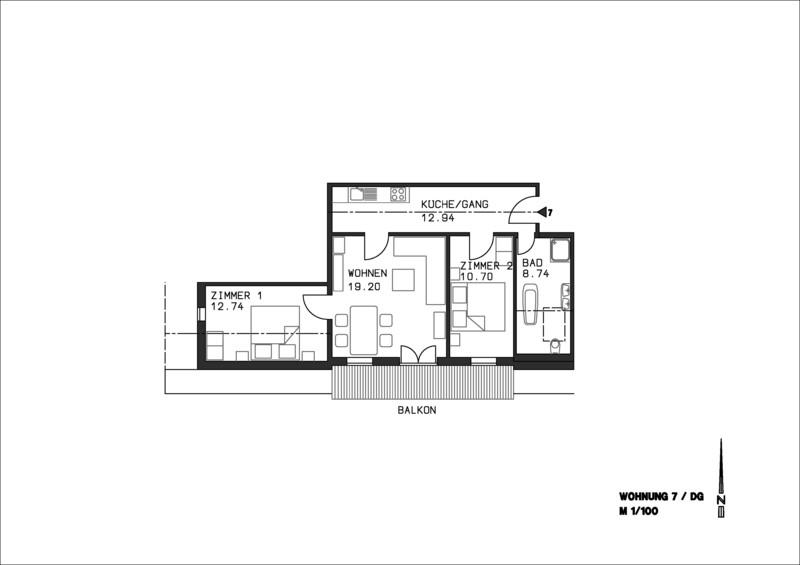 Ferienwohnung Georg Mayer Haus / Wohnung 7 (2397456), Oberstdorf, Allgäu (Bayern), Bayern, Deutschland, Bild 14