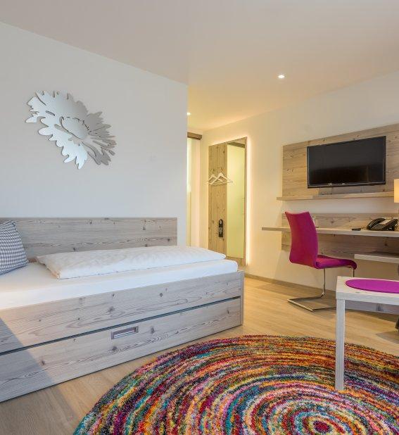 Zimmer 102 Edelweiß Einzelzimmer