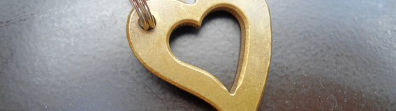 Herz Schlüsselanhänger mit Namen