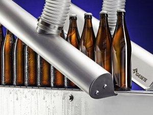 Luftklinge Flaschentrocknung