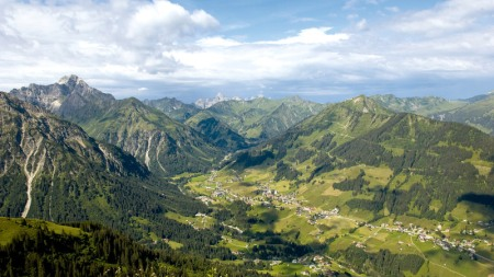 Kleinwalsertal Panorama Kleinwalsertal Tourismus eGen - Fotograf Alexander Rochau