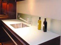 Glas in der Küche