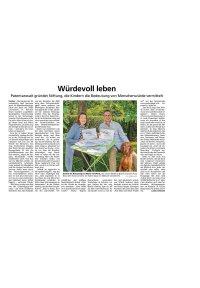 Artikel im Münchner Merkur