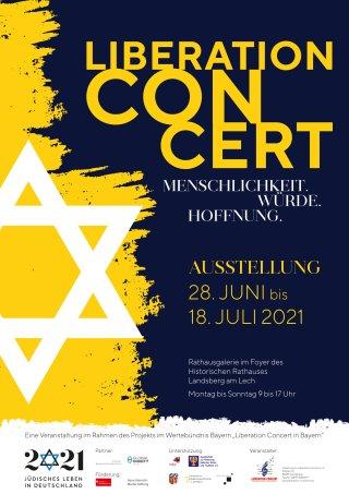 Liberation Concert Plakat