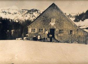 Die Grasgehrenhütte damals