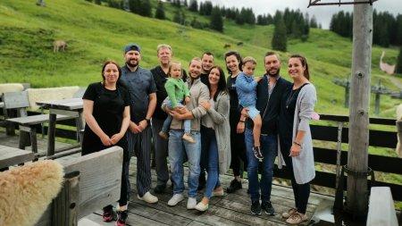 Team der Berghütte Grasgehren