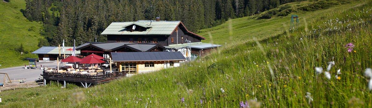 Berghütte Grasgehren in den Allgäuer Alpen