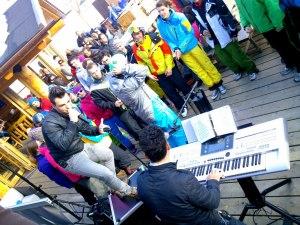 Après-Ski-Party mit den Lamas
