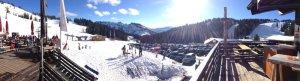 Ausblick Berghütte Grasgehren