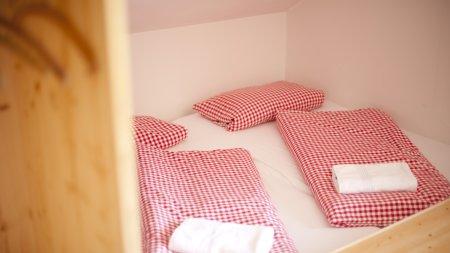 Echtes Hüttenleben im Bettenlager