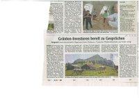 Allgäuer Zeitung - Artikel vom 09.07.19 - Investoren bereit zu Gesprächen