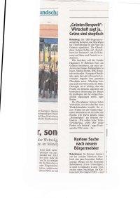 Allgäuer Zeitung - Artikel vom 16.07.19 - Wirtschaft sagt ja Grüne skeptisch
