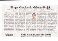 Allgäuer Zeitung - Artikel vom 27.07.19 - Bürger Kämpfen für Grüntenprojekt