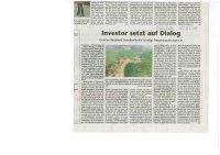Kreisbote - Artikel vom 17.07.19 - Investor setzt auf Dialog