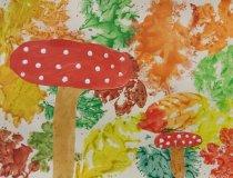 Pilze im Herbstwald (1)