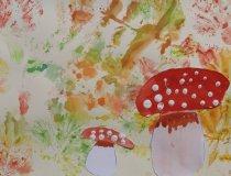 Pilze im Herbstwald (4)