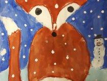 Füchse im Schnee (1)