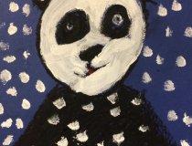 Pandas im Schneesturm (2)