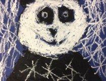Pandas im Schneesturm (1)