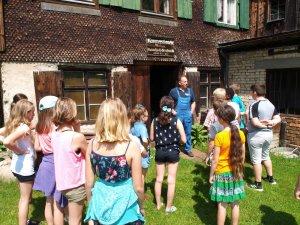 Unterrichtsgang Hammerschmiede (1)