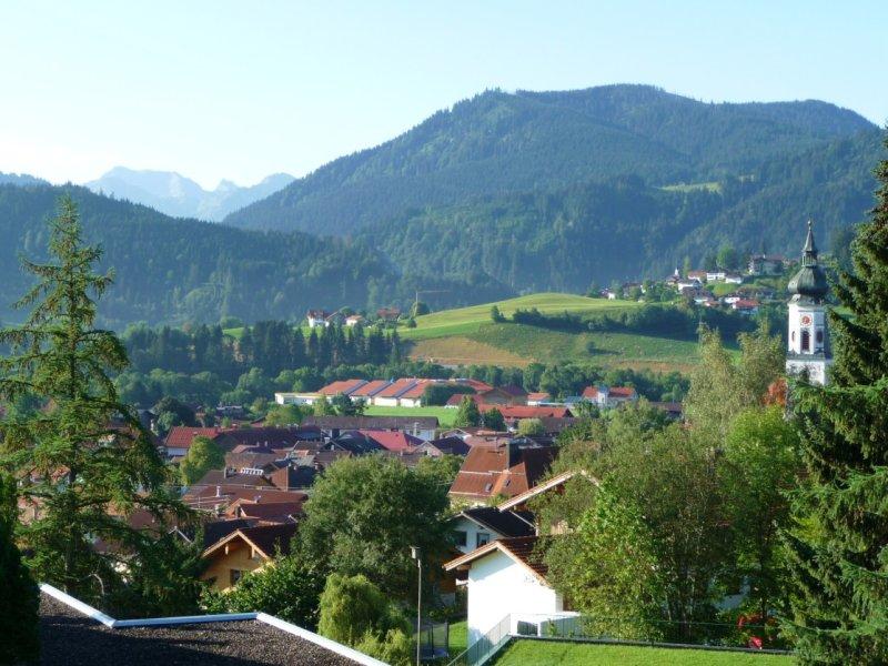 Ausblick von unserer Wohnung