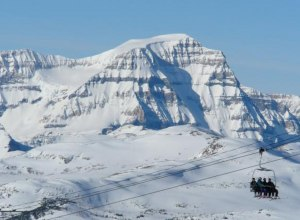 Banff Liftfahrt