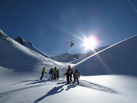 Heli-Skiing mit Purcell
