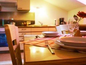 Küche Weiherkopfblick