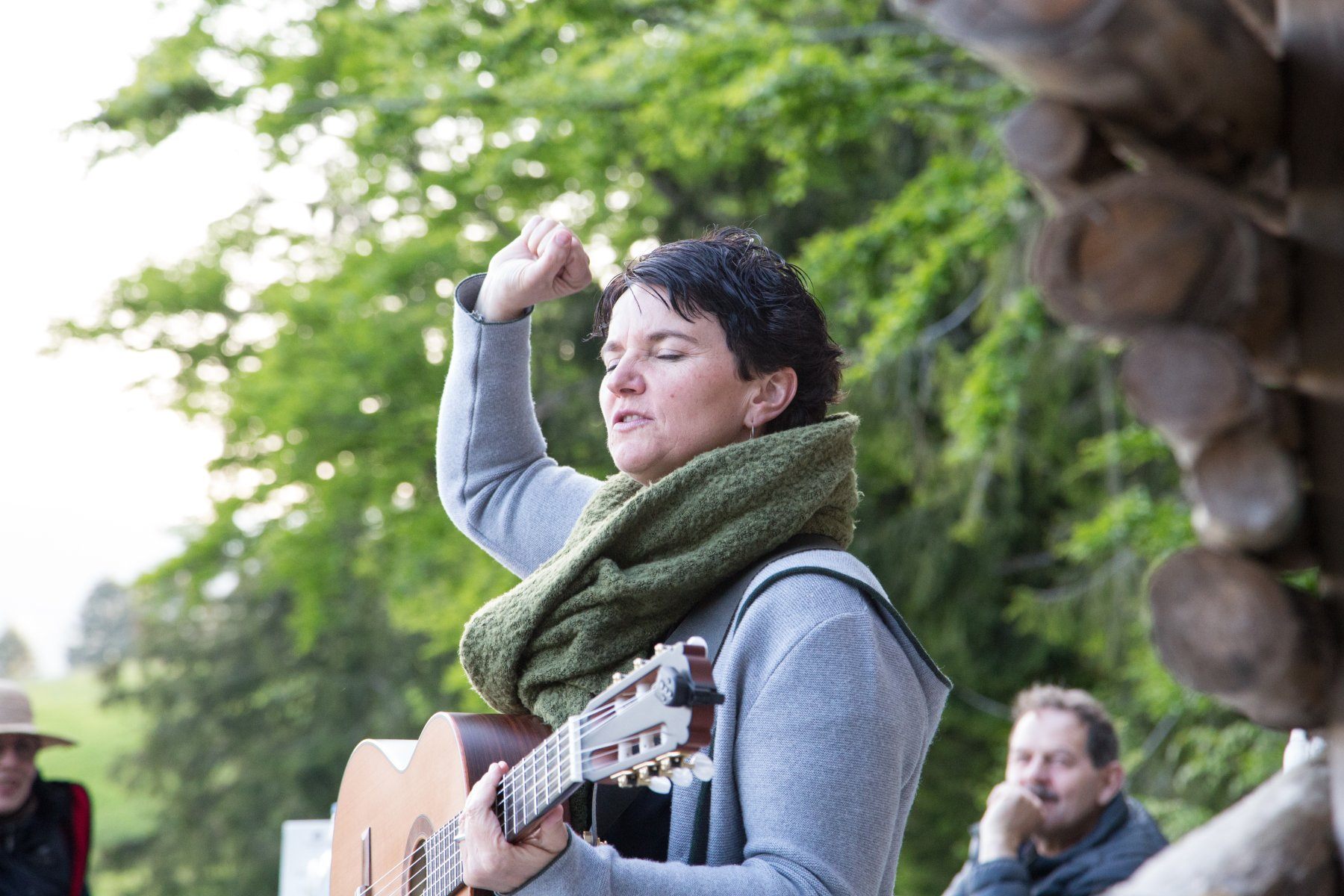 Hedwig Roth bei Kultur am Berg