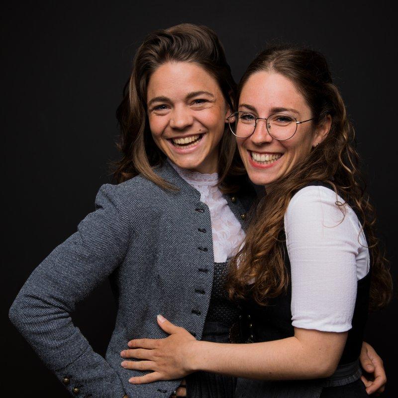 Eva und Tanja Hauber