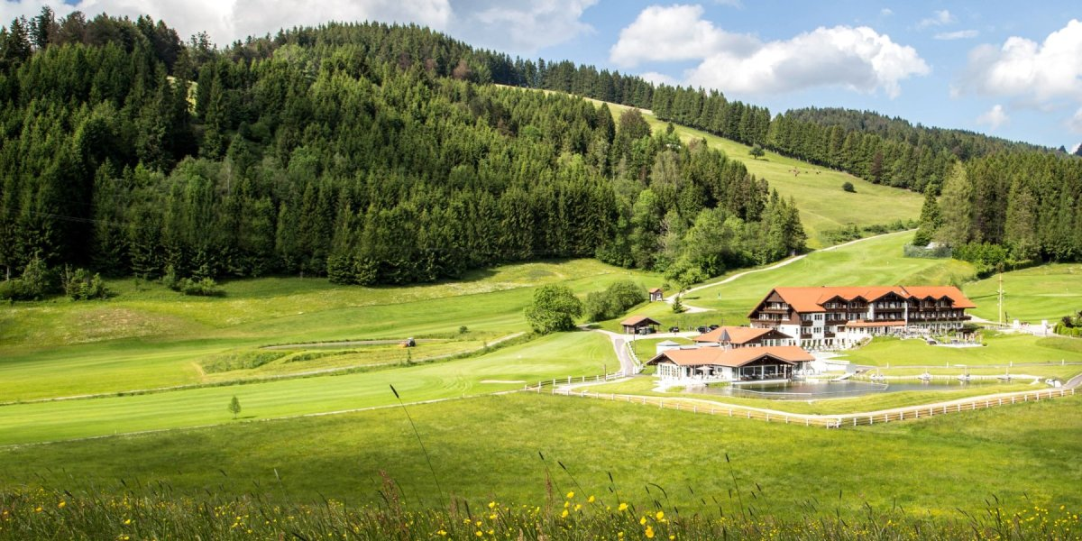 Golfhotel Haubers im Allgäu