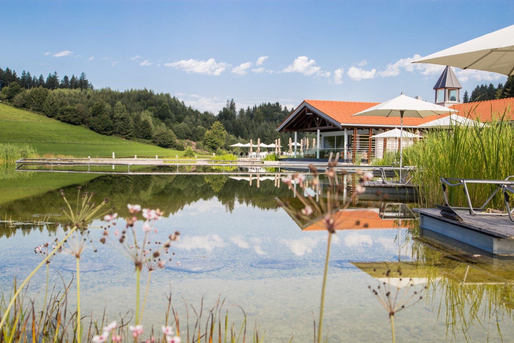 Entspannungsbereich des Kurhotel Haubers im Allgäu