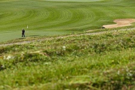 Golf und Heu