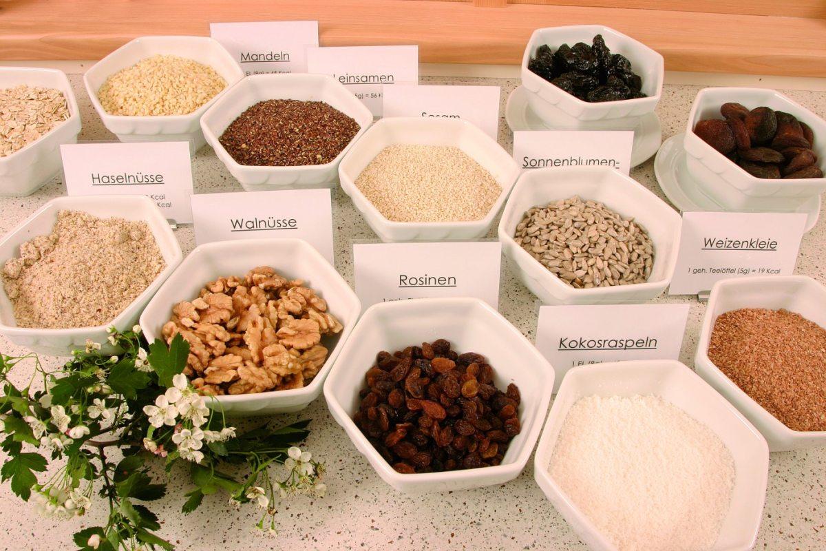 selbstgemachtes Knuspermüsli und teilweise biologische Zutaten entdecken Sie auf unserem Frühstücksbuffet