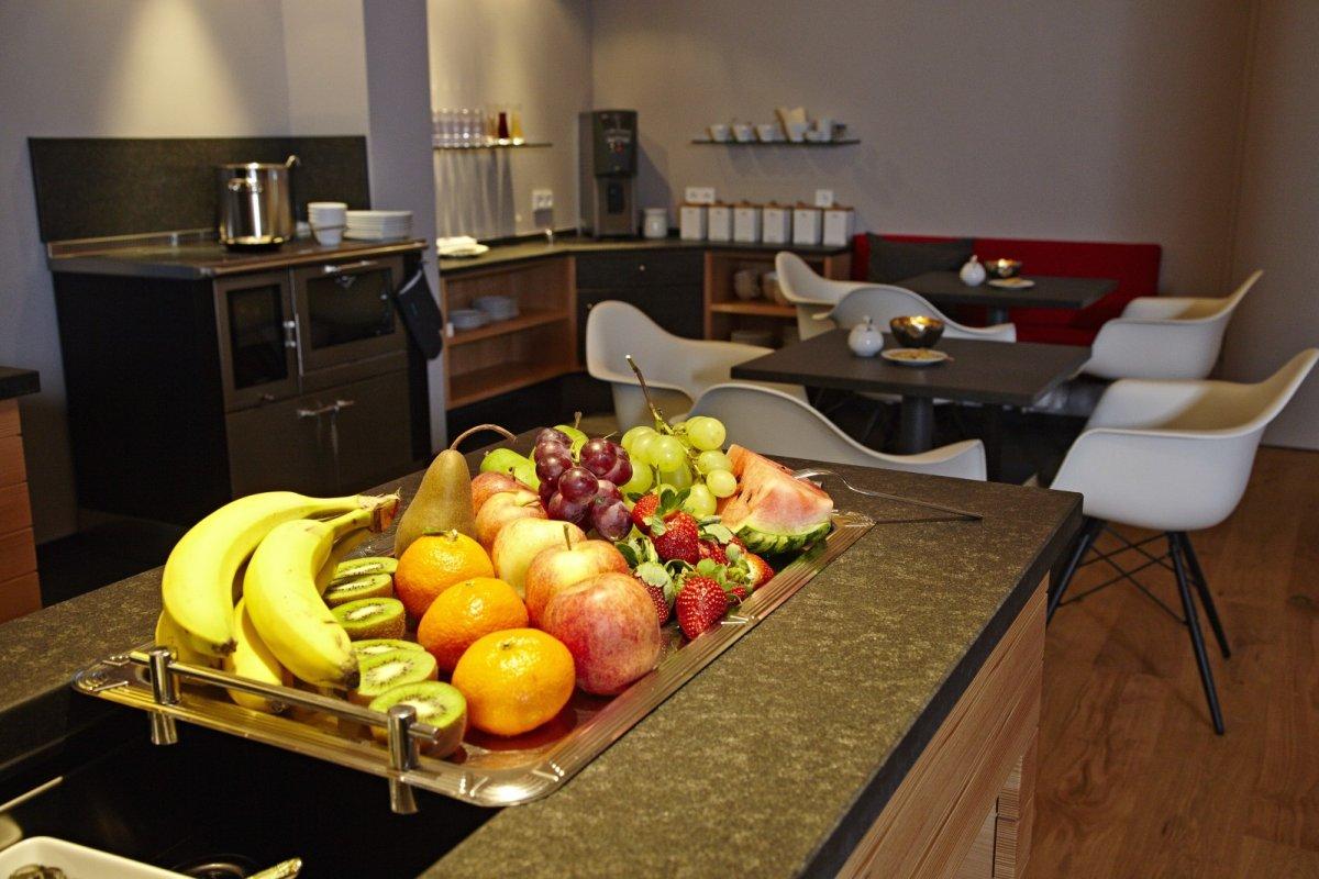 Frisches Obst im Wellnesshotel Haubers in Oberstaufen im Allgäu.