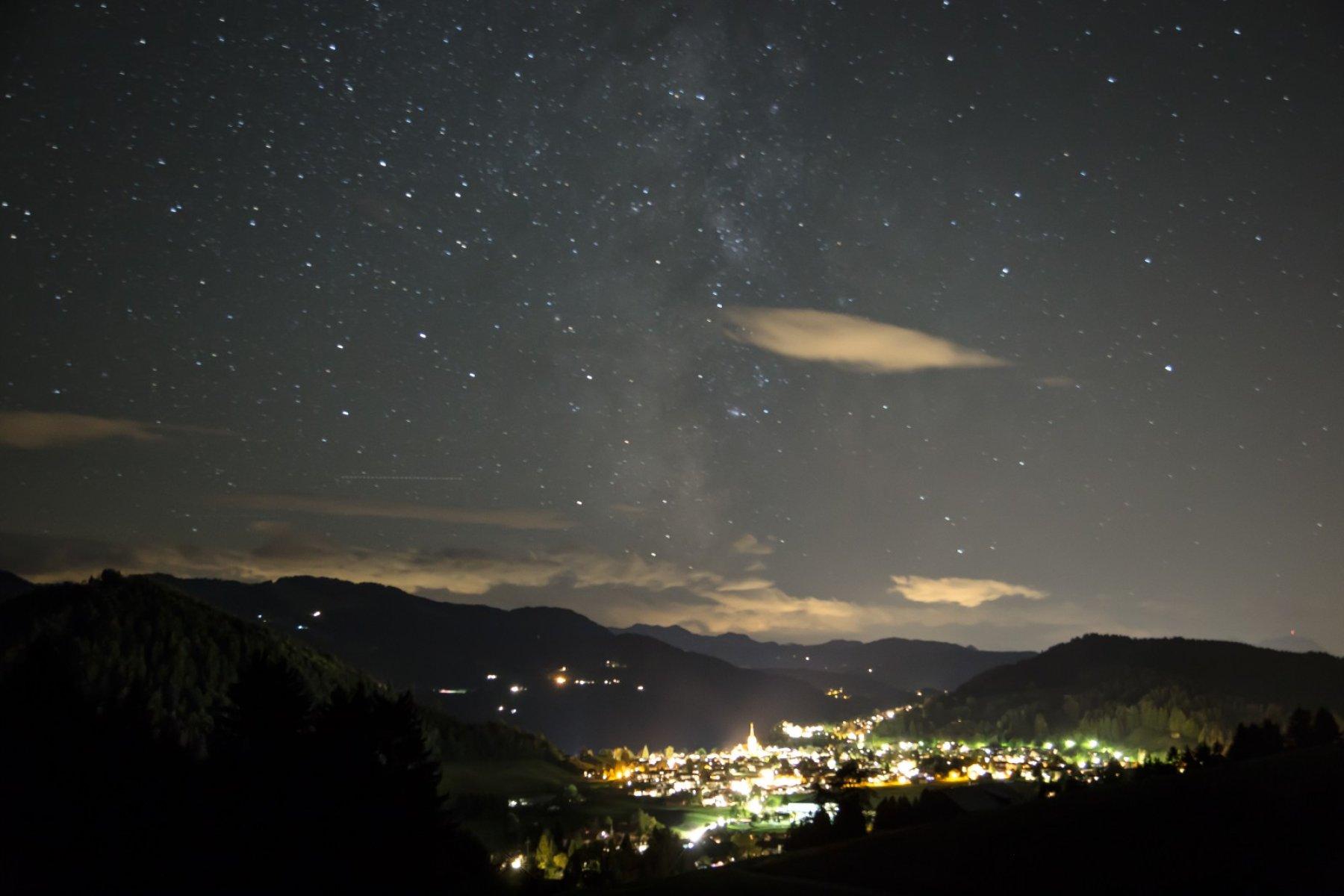 Oberstaufen bei Nacht