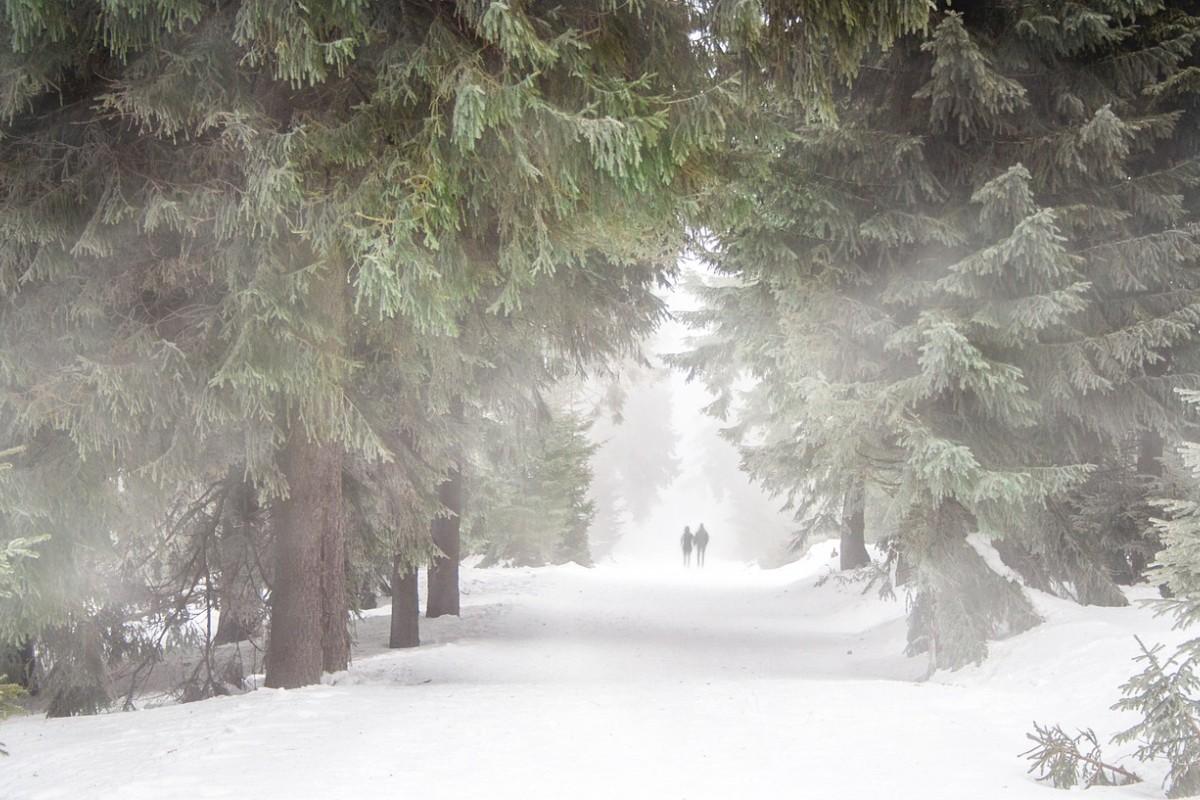 Beim Sport im tiefsten Winter müssen Sie besonders vorsichtig sein.