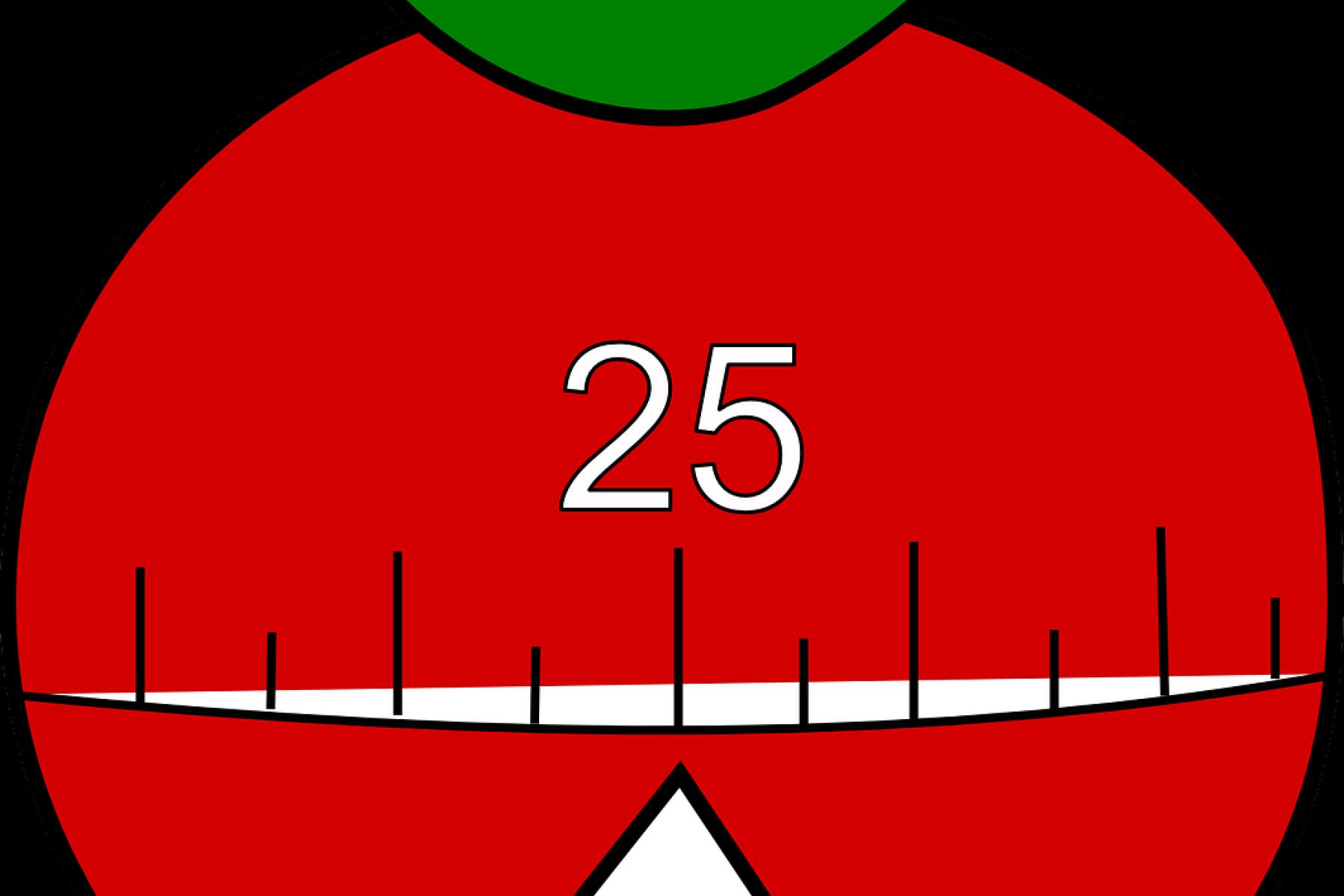 Eine Eieruhr in Form einer Tomate war der Ursprung der Pomodoro-Technik.
