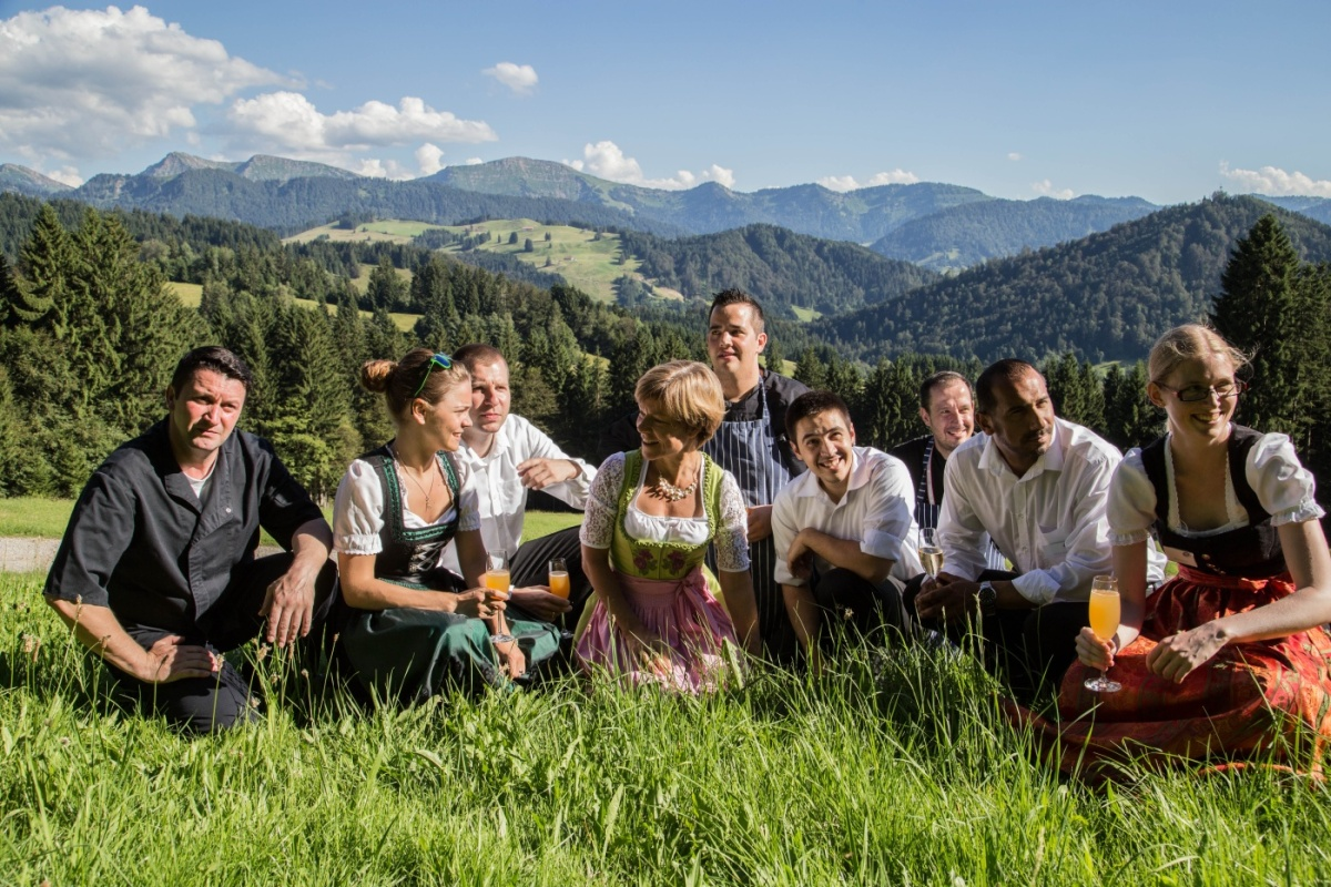 das gesamte Hauberteam freut sich schon heute auf das nächste Gourmet am Berg